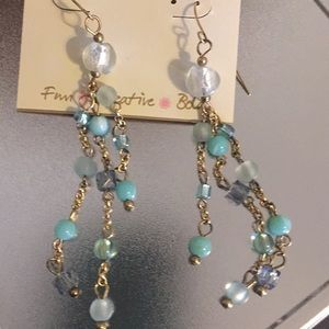 Erika Lyons  Dangle Bead Earrings